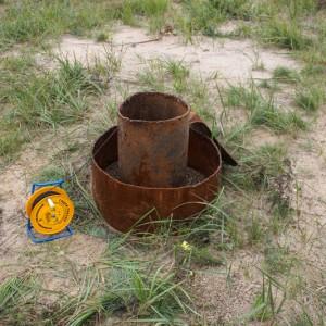 Замер уровня воды в скважине