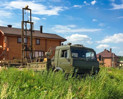 Геологические изыскания под частные дома и коттеджи