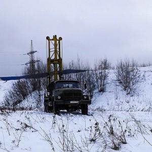 Геология под строительство коттеджа в зимнее время года